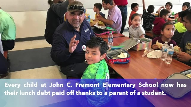 Father pays off entire lunch debt of Merced elementary school in act of generosity