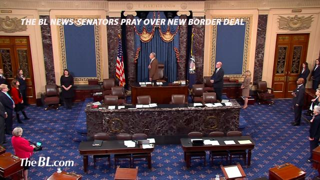 The BL News-Senators Pray over new Border Deal