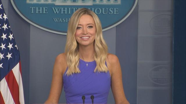 08/13/20 Press secretary Kayleigh McEnany holds a press briefing