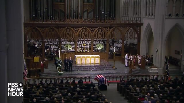 """OAK RIDGE BOYS DELIVER POWERFUL TRIBUTE AT BUSH FUNERAL """