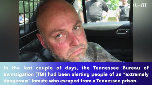 'Extremely dangerous' Tennessee inmate captured after 5 days on run, authorities say