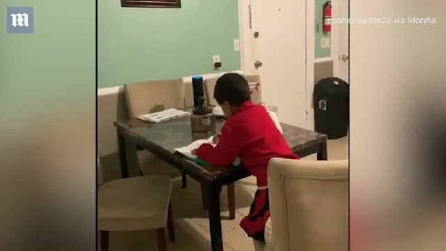 Mother catches son, 6, cheating on homework with help of Amazon Alexa