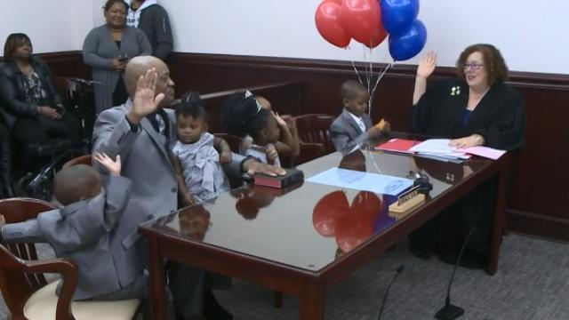 Western New York man adopts 5 siblings, keeping the children together
