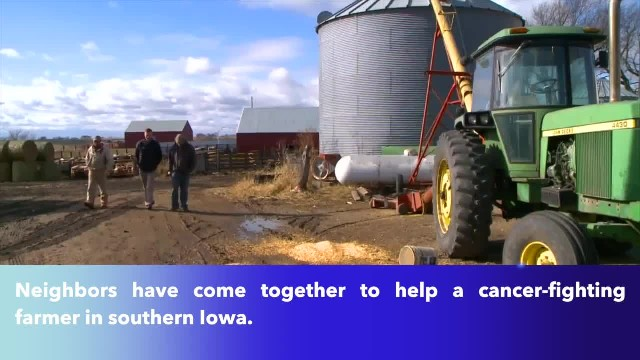 Iowa farmer with cancer gets help from neighbors to finish harvest(1)