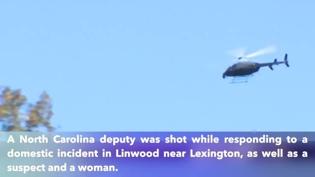 North Carolina deputy was shot while responding to a domestic incident
