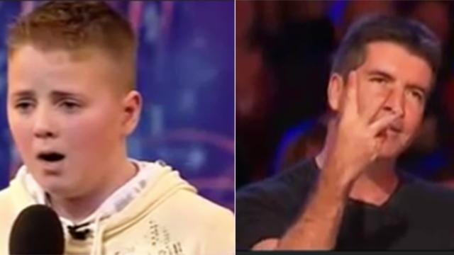 "Bullied boy sings Opera for judges on ""America's Got Talent"""