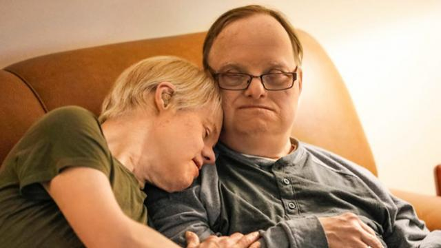 Couple with Down syndrome who've been married for 25 years love each other unconditionally despite a