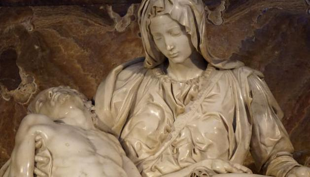 What made The Pietà by Michelangelo one of the finest sculptural masterpieces in the world?