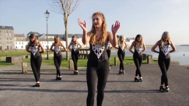 8 girls tap their shoes and land spot in Ed Sheeran's video with flawless routine