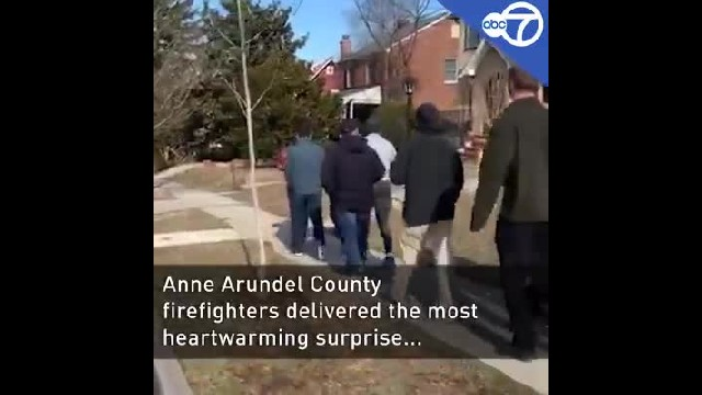 Couple told they're having home inspection only to realize they were lied to when 30 firemen show up
