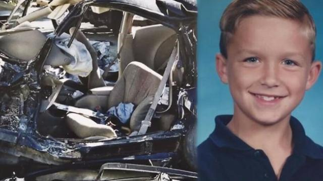 Son brought back to life after car wreck. Wakes up and tells mom what he saw in heaven