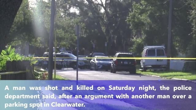 Police- Suspect shoots, kills man after argument over parking spot in Clearwater