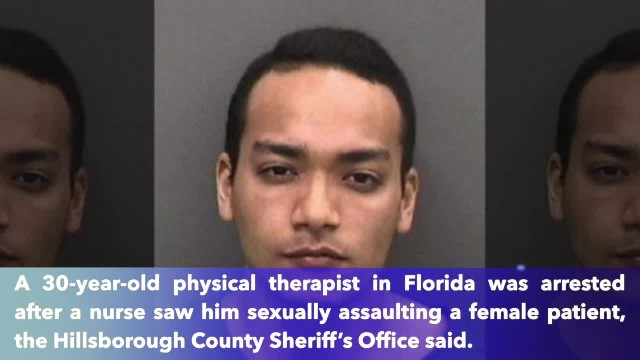 Physical therapist accused of sexually assaulting patient, 75, at Florida hospital