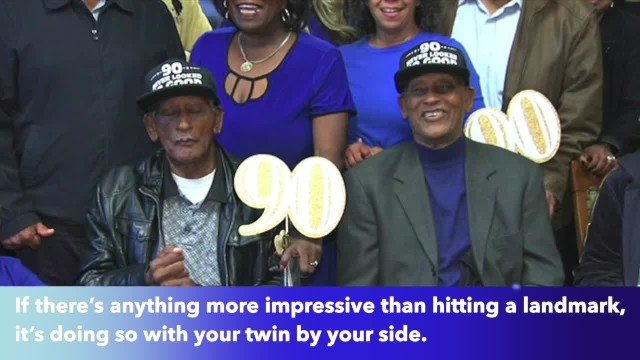 Twin brothers celebrate 90th birthday in Chicago Heights