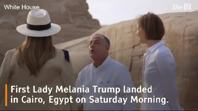 First Lady Melania Trump's Visit to Cairo, Egypt