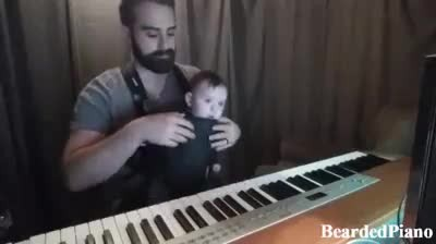 Mom Couldn't Get Baby Back To Sleep - The Song Dad Plays Is Absolutely PERFECT