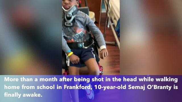 'The best Christmas miracle'- 10-year-old boy shot in head while walking home from school in Philade