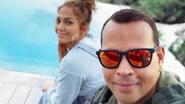A-Rod just proposed to JLo, and the ring is just so massive