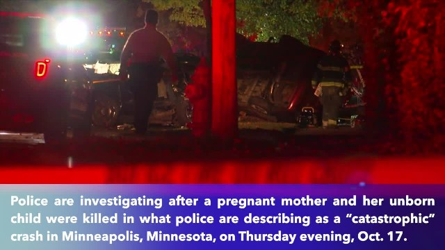 Pregnant woman, unborn child killed in 'catastrophic' crash in Minneapolis, Minnesota