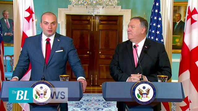 Pompeo Proclaims Positive Meeting with Georgian Prime Minister
