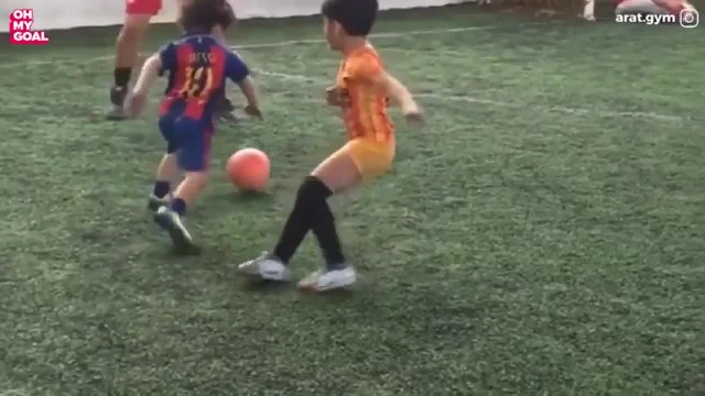 Real-life Spiderman boy from Iran is said to be the next Messi for his amazing football skills