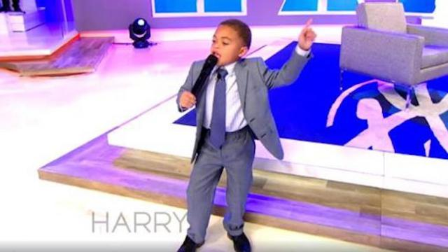 5-year-old gospel singer performs 'Pass Me Not, O Gentle Savior' will wow you!