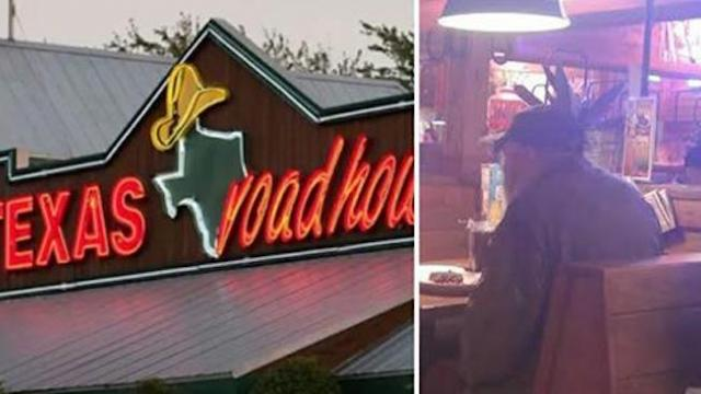 Woman overhears veteran at another booth, immediately calls manager over