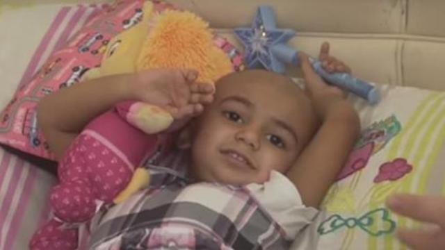 Desperate hunt continues for rare blood to save life of sweet two-year-old