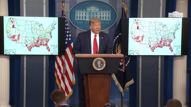 07/23/20 President Trump holds a news conference