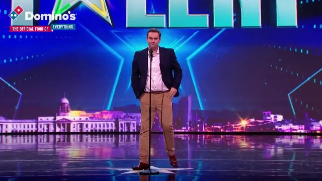 Barry Darcy gets Louis's GOLDEN BUZZER with tear jerking performance Ireland's Got Talent 2019