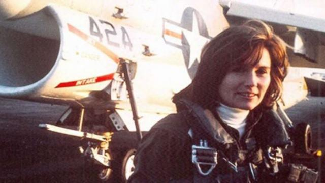 Navy to honor its 1st female jet pilot with historic all female flyover during funeral