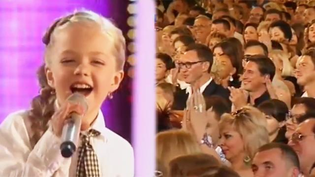 Little girl owns the stage with high-voltage rendition of Beatles' 'Oh Darlin''