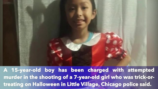 Boy, 15, charged in shooting girl, 7, while she was trick-or-treating in Chicago