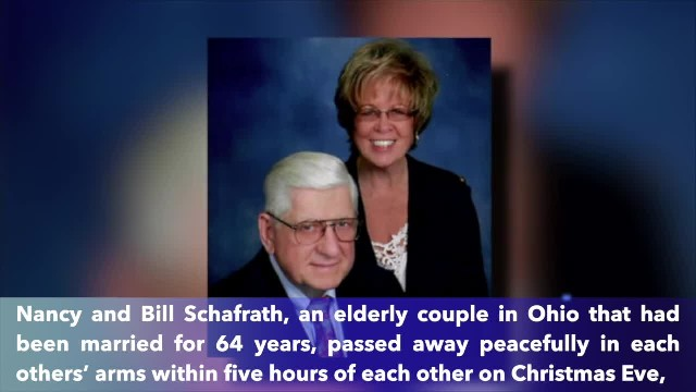 After 64 years of marriage, this couple died in each others' arms only hours apart