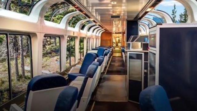 A trip on the most beautiful train ride in America starts at