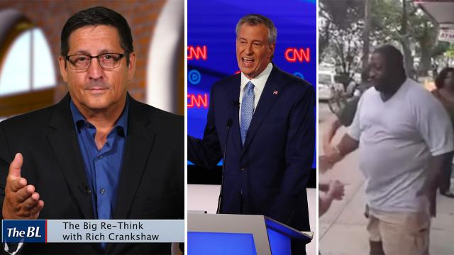 DeBlasio heckled at Democrat Debates-I'll re-examine Eric Garner case