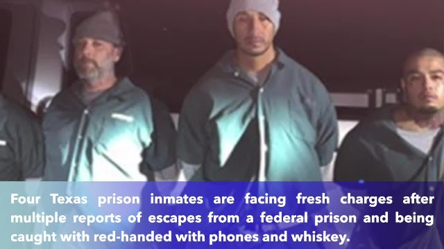 Federal inmates escape federal prison and return with whiskey, cellphones