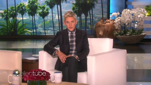 Ellen Gives Her A Pair Of Boots - But What's Inside Put Her Immediately In Tears