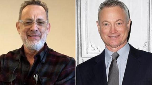 Watch Tom Hanks, Kristen Chenoweth and more join veterans in thanking 'lt. Dan' Gary Sinise