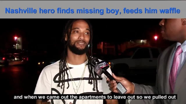 """ Man Finds Toddler Wandering Neighborhood, Dresses and Feeds Him Before Helping Him Home"""