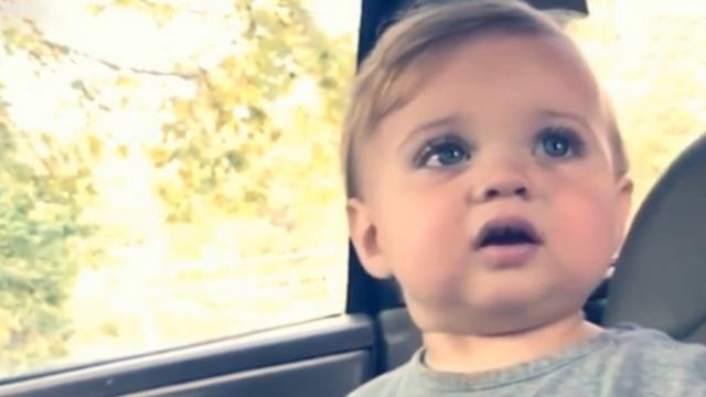"""Mom tells her baby, """"No."""" his response is taking the Internet by storm"""