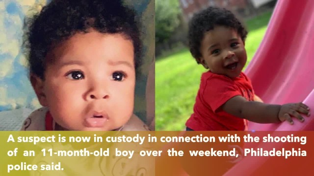 11-month-old boy fighting for his life as suspect arrested in his shooting
