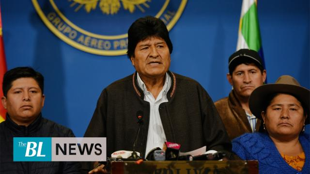 Evo Morales resigns as president of Bolivia