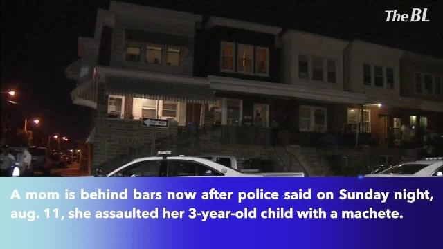 Police- Girl, 3, attacked with machete in Olney; mother arrested