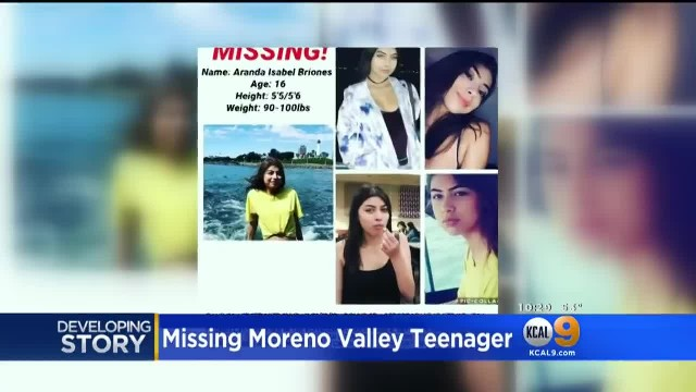 Moreno Valley Teen Missing For More Than A Week