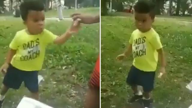 "Mom catches little boy's hilarious ""Donut Dance"" in adorable home video"