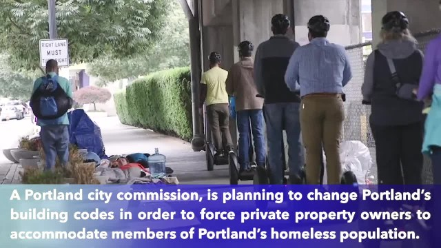 Portland wants private property owners to add 'mandatory rest spaces' for the homeless