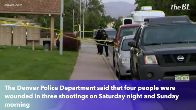 4 injured in 3 overnight shootings in Denver, Colorado