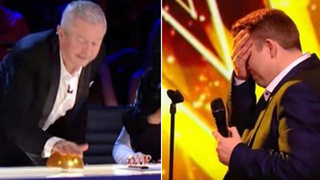 Man's sultry rendition of Elvis hit so captivating, it forces judge to slam the Golden Buzzer