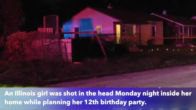 11-year-old girl shot in head in Harvey home while prepping for her birthday
